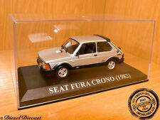SEAT FURA CRONO METALLIC SILVER 1982 1:43 MINT!!!