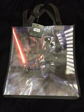 Star Wars Darth Vader Red Light Saber Tote Bag Shopper Lucasfilm New Empire