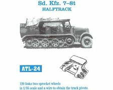 1/35 Friulmodel ATL-24 Sd.Kfz.7 -8t Halftrack w/ 2 Sprockets Friul Metal Tracks