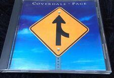 Coverdale Page CD Brazil Edition Rare Whitesnake Led Zeppelin