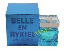 BELLE EN RYKIEL BLUE & BLUE 2.5 OZ EDT SPRAY FOR WOMEN BY SONIA RYKIEL WITH BOX