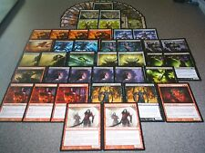 MTG Magic FALKENRATH NOBLE DECK Innistrad Skirsdag Cultist Mythic Rare Lot