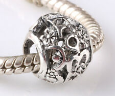 hot 5pcs retro Tibetan silver big hole beads fit Charm European Bracelet AR600
