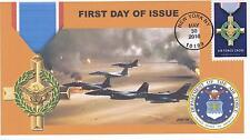 JVC CACHETS - 2016 MILITARY SERVICE CROSS ISSUE FIRST DAY COVER FDC AIR FORCE