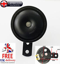 12v 105dB Universal Loud Black Scooter Moped Dirt ATVMotorcycle Motorbike Horn