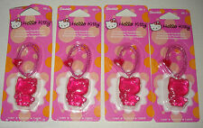 4 HANGING HELLO KITTY CAR/AUTO HOME AIR FRESHENER/DEODORIZER FRESH BLOOMS SCENT