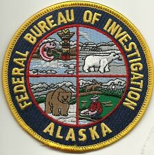 Fbi: alaska Federal Bureau of Investigation Police Patch policía Patch oso polar