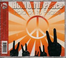 "HOLD ON TO PEACE ""HOLD ON TO PEACE"" CD SINGLE 2008 sealed"