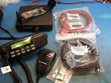 Motorola CDM1550 UHF w/Remote Head 403-470MHz 40 Watt 128 Channel, Rare, Mint