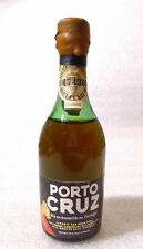 Old Vintage Mini Bottle ✱ PORTO CRUZ OPORTO WINE ✱ Vin de Porto Portugal