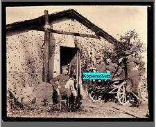 Militärfoto Kriegsfoto 1. Weltkrieg _ Uniformen_Soldaten _ Mützen - WK I Preußen