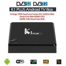K1 Plus DVB-T2+S2 S905 Quad Core Android5.1 OTT TV Box 4K H.265 Player
