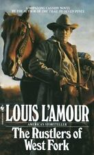 THE RUSTLERS OF WEST FORK - LOUIS L'AMOUR (PAPERBACK)