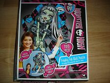 """NEW Monster High Power Freaky Fab Wall Puzzle 24"""" x 36"""" 100 pc pieces Frankie"""
