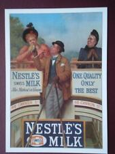 POSTCARD  NESTLE'S MILK - ONE QUALITY ONLY THE BEST