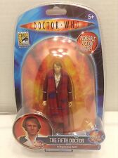 Doctor Who inch 5.5 Figure 5 Regeneration Fourth to Fifth 5th Peter Davison SDCC