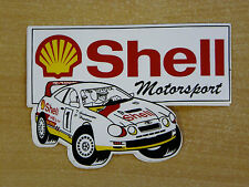 Shell Motorsport Toyota GT4 Toni Gardemeister Rally / Motorsport Sticker Decal