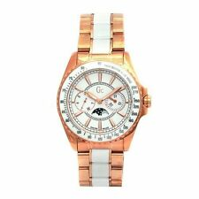 New Authentic GUESS Women guess collection Moon phase Two-Tone Watch 53000M1 NWT