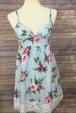 Abercrombie & Fitch Floral Cami Sundress Dress S small *A*