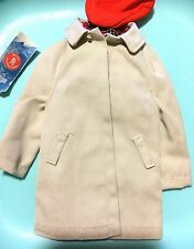 Mattel Barbie Doll KEN Clothing Red Cap 788 RALLY DAY RAINCOAT TRENCH COAT & MAP