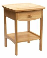 Winsome Wood End Table/Night Stand with Drawer and Shelf (Color: Natural)