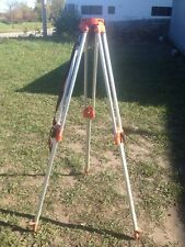 Heavy Duty Aluminum Transit Surveyors Tri-Pod Lightweight Made in USA