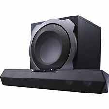Black web 2.1 ZULU Gaming Soundbar with Wireless Subwoofer BWB15HO212 - BLACK