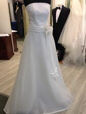 Augusta Jones Satin/Organza Pale Ivory Sample 2 Piece Wedding Gown RRP£1250