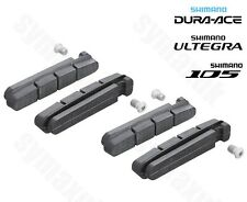 Shimano Brake Shoes Pads -R55C3, for Dura-Ace, Ultegra & 105, Twin Pack Set of 4