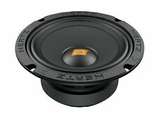 "PAIR HERTZ SV165.1 CAR AUDIO 6.5"" SPL SHOW MIDS 400W MIDRANGE 4 OHM SPEAKERS"