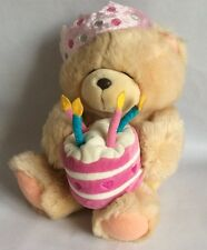 FOREVER FRIENDS – PLUSH BIRTHDAY BEAR - 12""