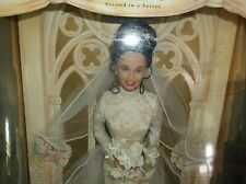 """1999 Erica Kane """"All My Children"""" Barbie Doll Champagne Lace Wedding New in Box"""