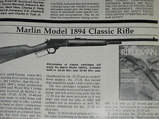 NRA TEST MARLIN 1894 IN 25-20, BROWNING BPS 10GA, LLAMA M87