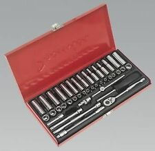 "Sealey Tools AK690 Socket Set 41pce 1/4 Drive Metric & Imperial "" Nice Set """