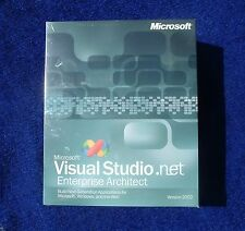 Microsoft Visual Studio.net Enterprise Architect  2002 SEALED! SQL Server C++