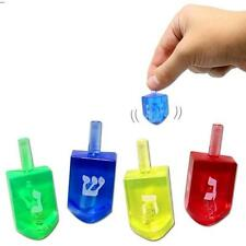 1 Transparent Dreidel ~ ~ ~ ~ ~ see thorugh חנוכה דרייידל translucent draydel