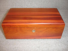 "Old Vtg Lane Cedar Wood Chest Box The ""Three"" Farmer Markets Sioux Falls, SD"