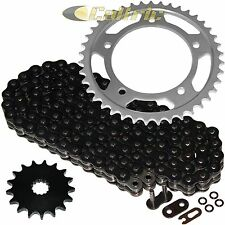 Black O-Ring Drive Chain & Sprocket Kit Fits SUZUKI DL1000A V-Strom ABS 2014-16
