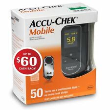 ACCU-CHEK MOBILE BLOOD GLUCOSE METER KIT FREE AFTER CASH BACK