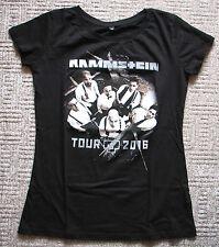 Original Tour Frauen Woman T-Shirt RAMMSTEIN Waldbühne Berlin Konzert 2016