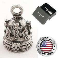 Crown Of Skulls Guardian® Motorcycle Spirit Bell Gremlin Gift Harley-Davidson