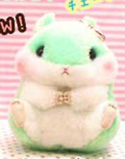 Korohamu Koron 6'' Mint Green with Bow Hamster Amuse Prize Plush