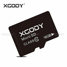 XGODY 16GB Micro SD TF Karte Speicherkarte Flash Memory Card Class 10 für Handy