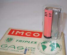 Vintage IMCO Triplex Gas Lighter G11 made in Austria 50s