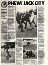 12/10/91 Pgn25 Article & Picture phew Jack City On Bowling Green With World Of T
