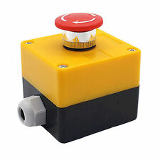 Waterproof Bust-proof Emergency STOP Push button Switch 600V 10A