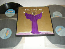 Handel THE MESSIAH ORIGINAL MANUSCRIPT 4LP Box Set Somerset SFCC-201 EX NM