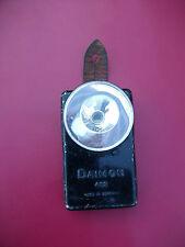 WW2 WK2 WW Orig. Einsatz Taschenlampe - Daimon 412 -  Glaslinse drehbar