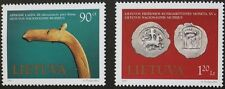 Museum exhibits stamps, 1997, Lithuania, SG ref: 649 & 650, 2 stamp set, MNH