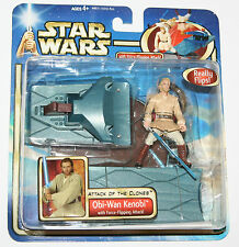 Star Wars AOTC Figure - OBI-WAN KENOBI 'Force-Flipping Attack'